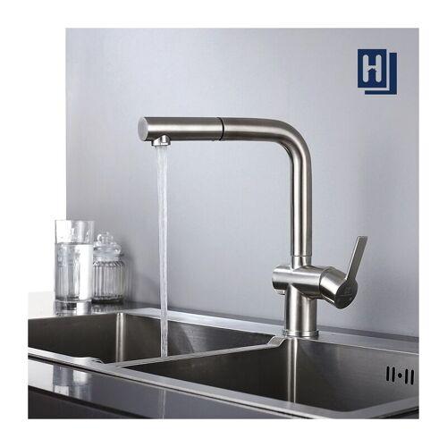 HOMELODY Wasserhahn Küche Spültischarmatur Ausziehbare Küchenarmatur Armatur