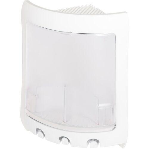 IDRALITE Weiße und dursichtige Duschablage Mod. Loop