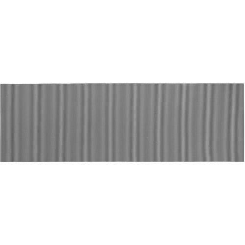 WENKO Badematte Grau, 65 x 200 cm, Weichschaummatte - Grau - Wenko