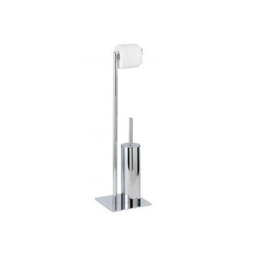 WENKO Stand Toilettenbürste Recco Toilettenbürstenhalter Toilette