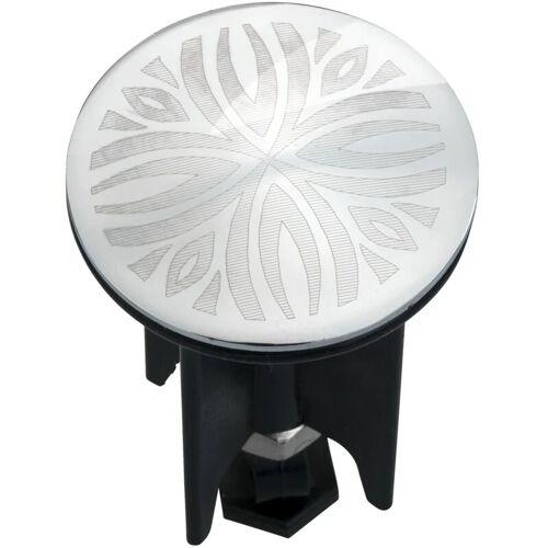 WENKO Waschbeckenstöpsel Pluggy® Latur Stöpsel Waschbecken Abfluss Ø3,9 x