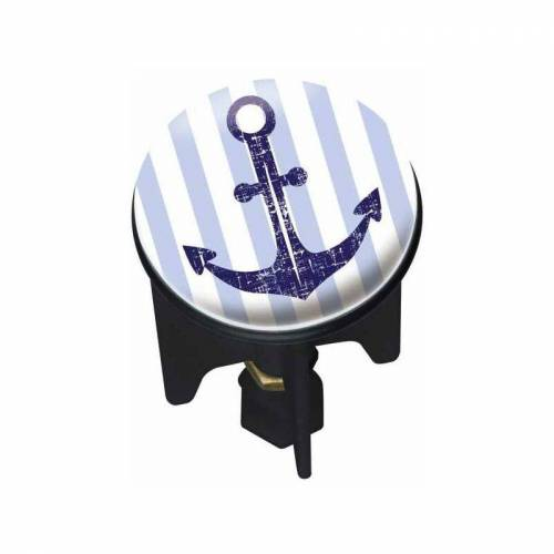 WENKO Waschbeckenstöpsel Abflussstöpsel Waschbecken Stöpsel Abfluss Stopfen