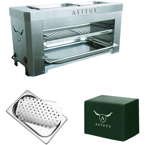 ASTEUS Family V2 Aktions-Set Bundle Elektro Infrarot Grill bis 800° C