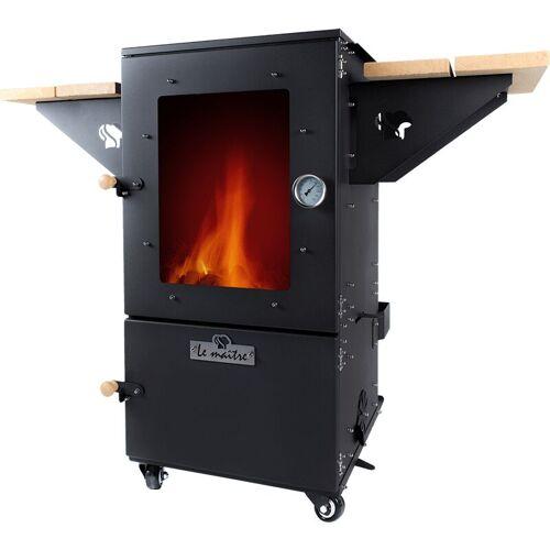 LE MAITRE Multi Oven Dark Black Grill BBQ Gartenkamin Kamin Ofen Räucherofen - Le