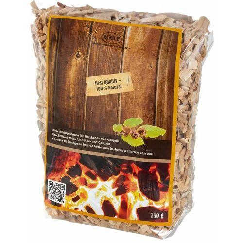 Rösle BBQ Räucherchips Buche 750 g für Holzkohle- und Gasgrill,