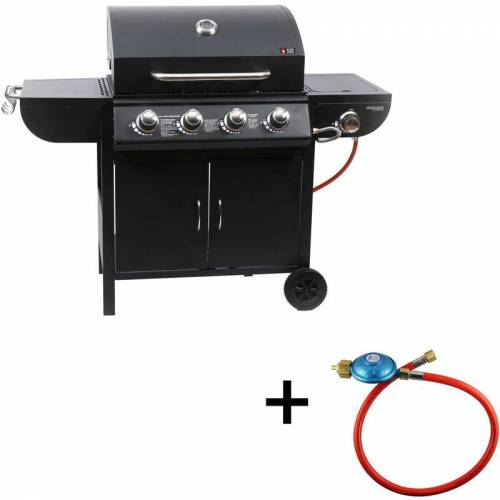 Mayer Barbecue - Gasgrill MGG 541 Basic Grill Grillwagen Standgrill