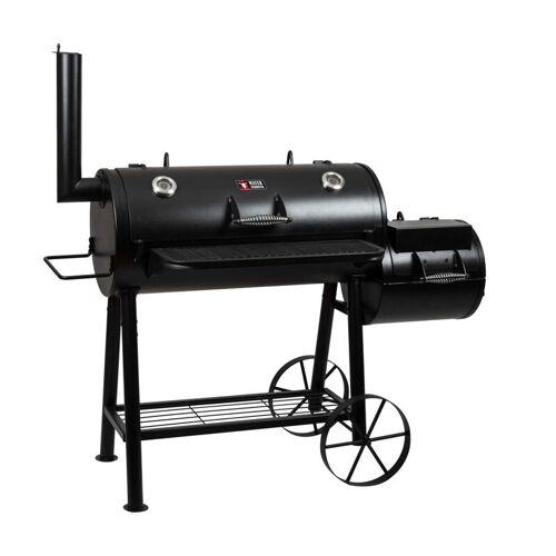 MAYER BARBECUE Smoker Grill Holz Holzkohle MS-500 Master Räucherofen Räuchern BBQ