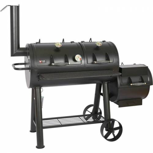 MAYER BARBECUE Smoker Grill Holz Holzkohle MS-600 Master Räucherofen Räuchern BBQ