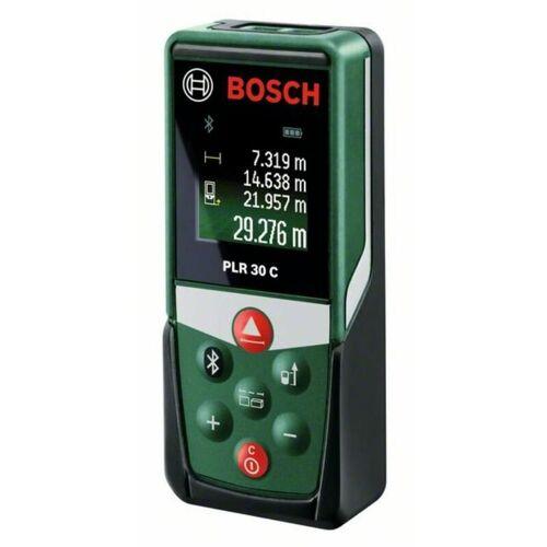 Bosch Digitaler Laser-Entfernungsmesser PLR 30 C   Messbereich bis 30m