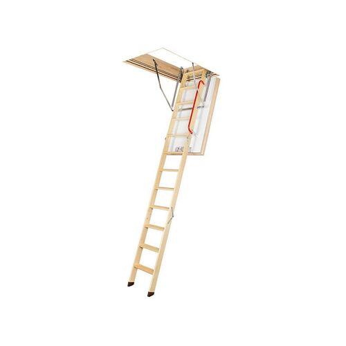 LEITER EXPERTEN C. Holz Dachbodentreppe Passivhaus super-thermoisoliert für eine