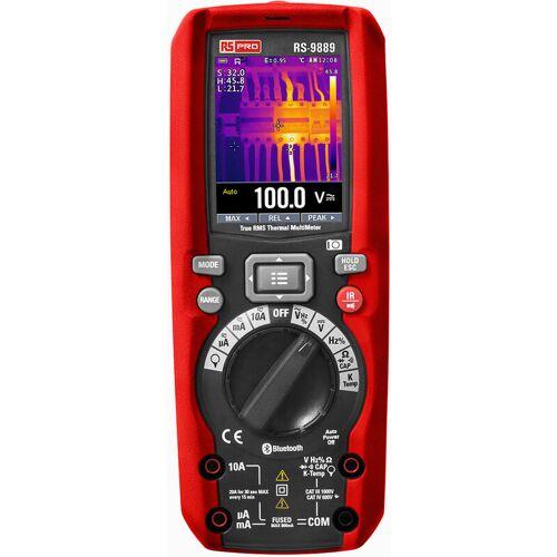 RS PRO RS-9889 Multimeter, Tragbar-, 1000V ac / 10A ac, 60M?,