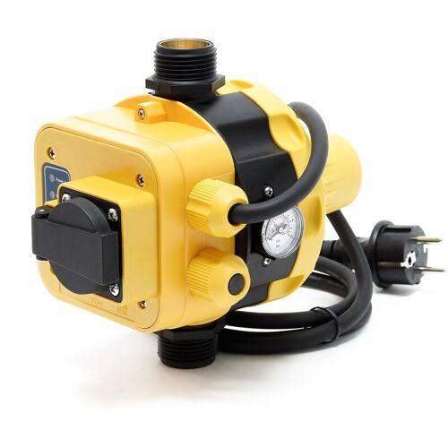 WILTEC Druckschalter EPC-5.1 230V mit Steckdose für Hauswasserwerke & Pumpen