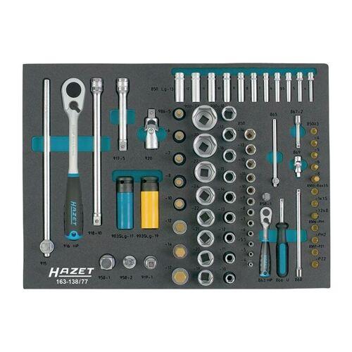 HAZET Werkzeugmodul 163-138/77 77-tlg.HAZET