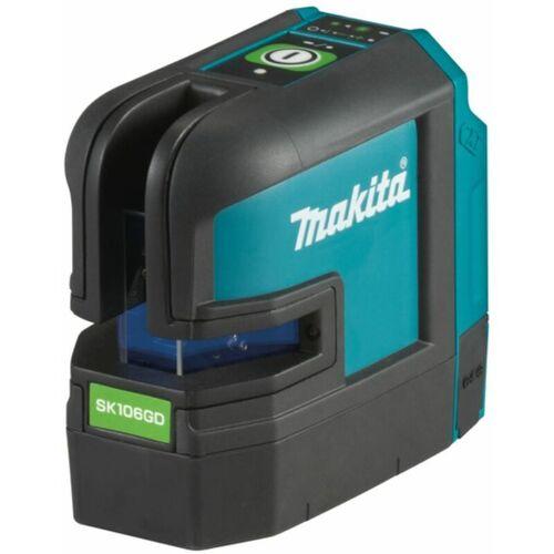 Makita - Akku-Kreuz-Linienlaser grün SK106GDZ   12V max.