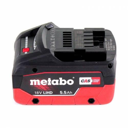 Metabo KT 18 LTX 66 BL Akku Tauchkreissäge 18 V 165 mm + 1x Akku 5,5 Ah