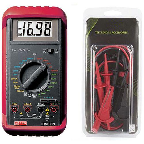 RS PRO Multimeter, Tragbar- - Rs Pro