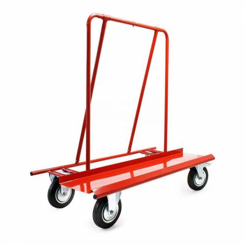 Wiltec - Plattenkarren bis 800kg zum Transport von Trockenbauwänden,
