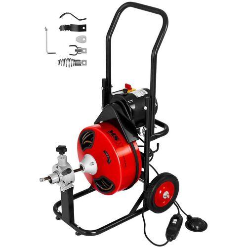 MSW - Rohrreinigungsmaschine Rohrreinigungsgerät Rohrreiniger Spirale