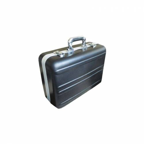 RS PRO Transportkoffer aus ABS Silber, B.innen 465 mm, H.innen 185 mm, T.innen