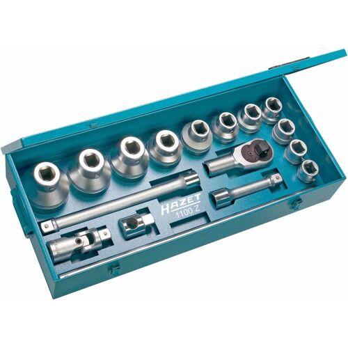HAZET Steckschlüssel-Satz Vierkant hohl 25 mm (1 Zoll),