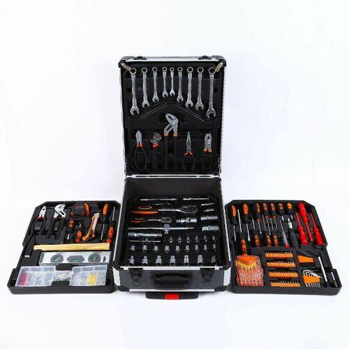 STARK Werkzeugkoffer-Set Werkzeug Rollenkoffer 1100 Stück Mac-Xxl
