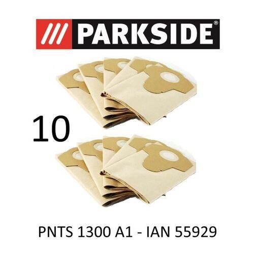 PARKSIDE 10 Parkside Staubsaugerbeutel 20 L PNTS 1300 A1 Lidl IAN 55929 braun