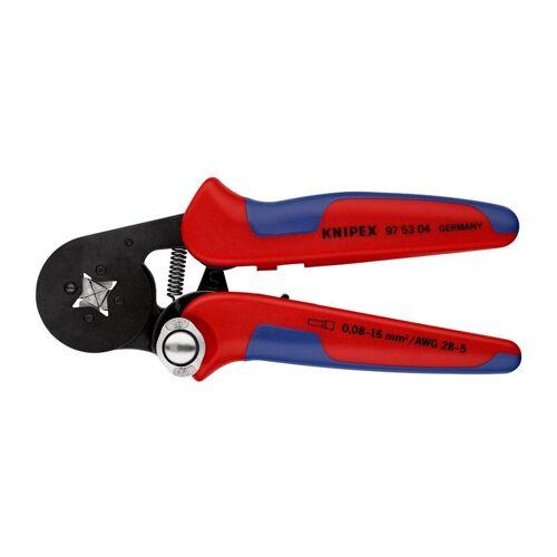 Knipex - Aderendhülsenzange L.180mm 0,08-10,0+16,0 (AWG 28-5) mm²