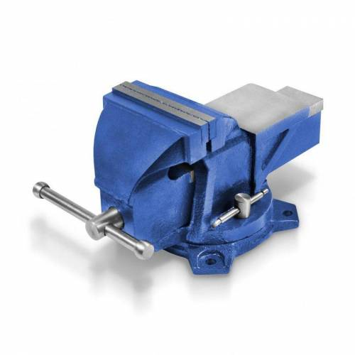 BERLAN Parallel - Schraubstock 125 mm - 12,5 kg / drehbar - Berlan
