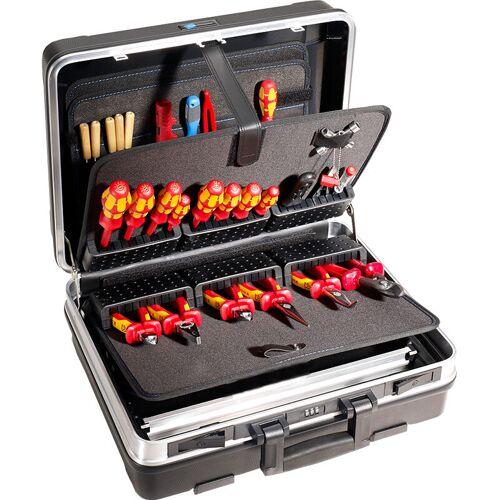 B&W Werkzeugkoffer Base mit Werkzeughalter, Werkzeugbox ohne Werkzeug, B&W