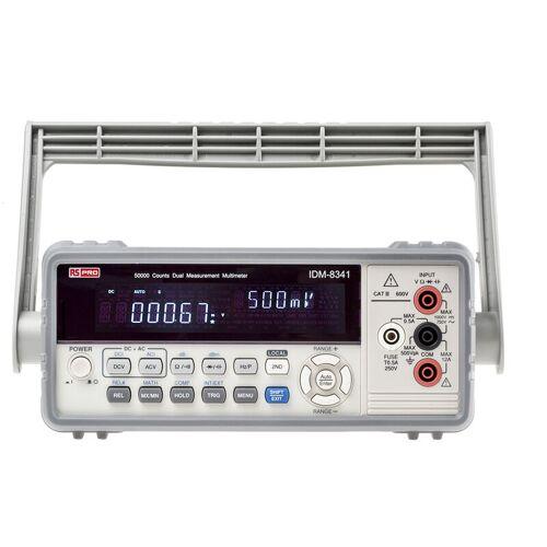 RS PRO IDM8341 Multimeter, Tischgerät-, 750V ac / 10A ac, 50M?, Kat.II,