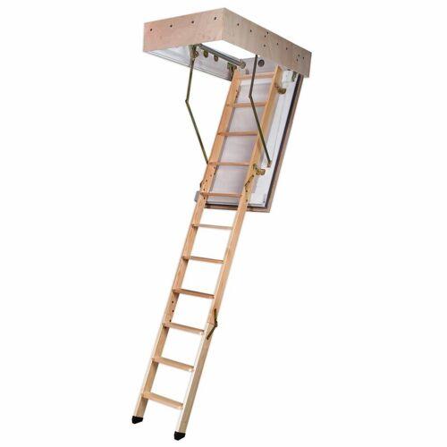 DOLLE Bodentreppe F90 3-teilig bis 285cm Raumhöhe mit U-Wert 0,64