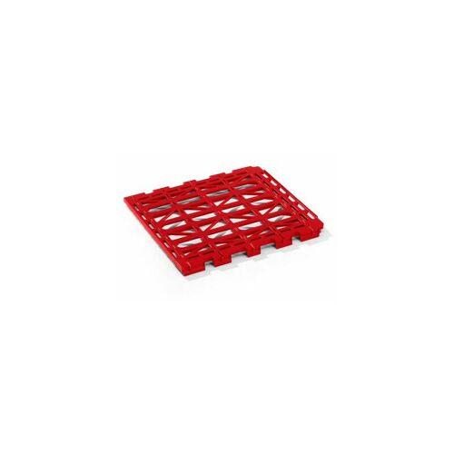 CERTEO E.S.B. Etagenboden - aus Kunststoff - rot Etagenboden Etagenböden