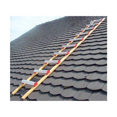 LEITER EXPERTEN G. Dachleiter aus Holz und Alu 5;00m - Sprossenabstand 25cm; Breite