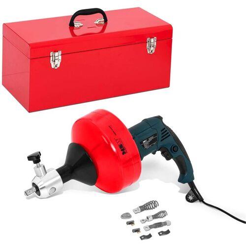 MSW Rohrreinigungsspirale elektrisch Abflussspirale Rohrreinigungsmaschine