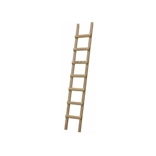 LEITER EXPERTEN I. Dachleiter aus Holz 6;00m - Sprossenabstand 25cm; mit hoher