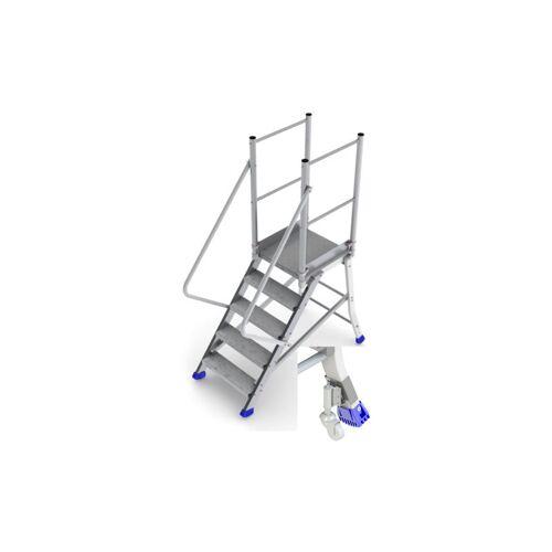 Plattformleiter Experten - D. Mobile Plattform mit Handlauf und