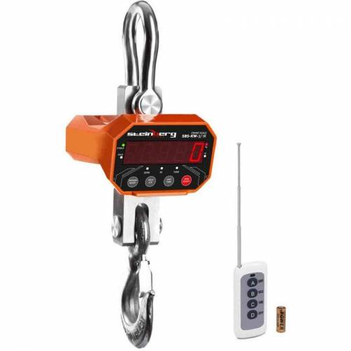 Steinberg Kranwaage Waage Industriewaage Hängewaage Lastenwaage LED bis 1 Kg 3000
