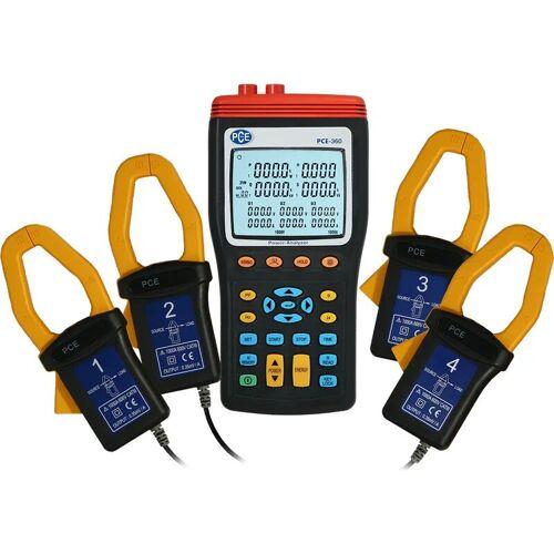 Pce Instruments - Leistungsmesser PCE-360 für 1- & 3-Phasen, inkl.