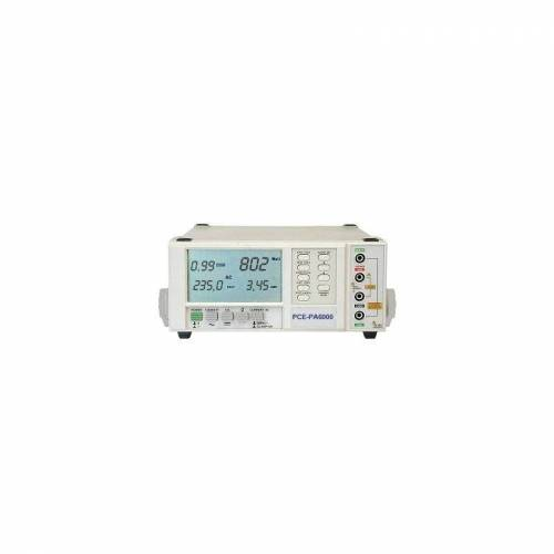 PCE INSTRUMENTS Leistungsmessgerät PCE-PA6000 für die Leistungsanalyse von Verbrauchern
