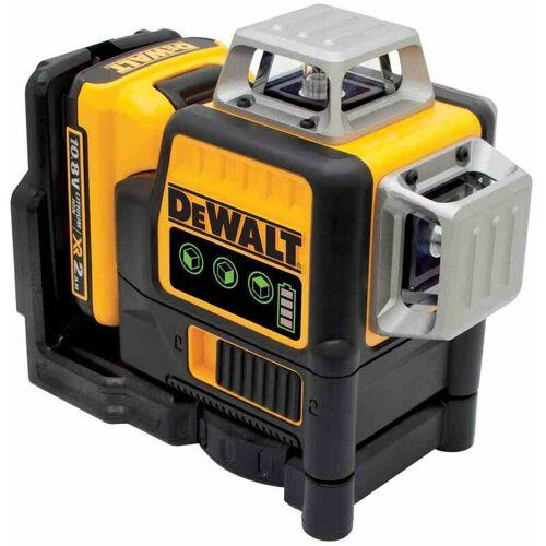 Dewalt - Multilinienlaser 3x360° 10,8V Laser Baulaser Akkulaser