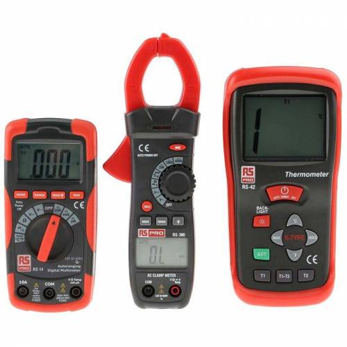 RS PRO RS14, RS380, RS42 Multimeter - Rs Pro