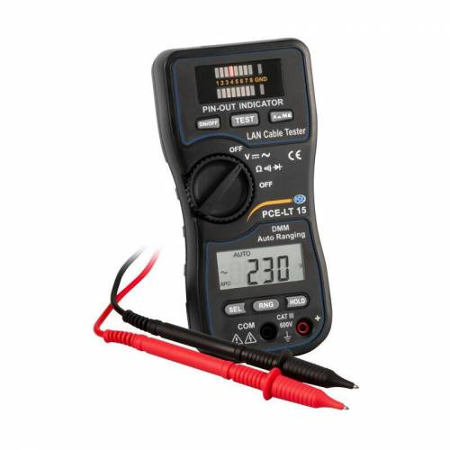 Pce Instruments - Netzwerktester PCE-LT 15 LAN-Tester zur schnellen