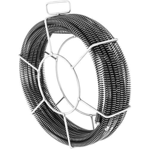MSW Spirale Rohrreiniger 16 mm + 15 mm Rohrreinigungsspirale