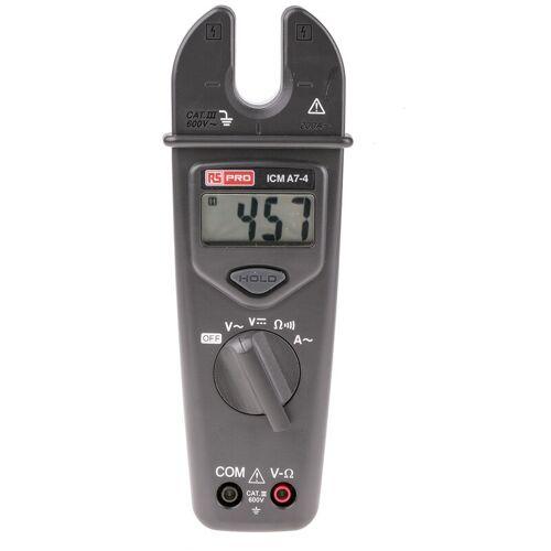 RS PRO ICMA7-4 Zangenmessgerät / 600V dc 600V ac 200A ac, 2k? - Rs Pro