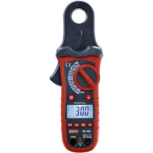 RS PRO Hintergrundbeleuchtung Zangenmessgerät / 600V dc 600V ac / 80A dc 80A