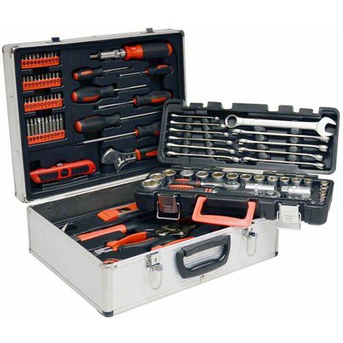 Vintec Metall Werkzeugkoffer Werkzeug Werkzeugkasten 96-tlg Werkzeugset