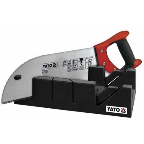YATO Schneidlade mit Funiersäge 22,5° / 45° / 90° - Yato