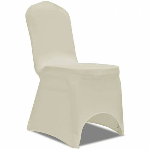 YOUTHUP Stretch-Stuhlhussen 100 Stk. Creme