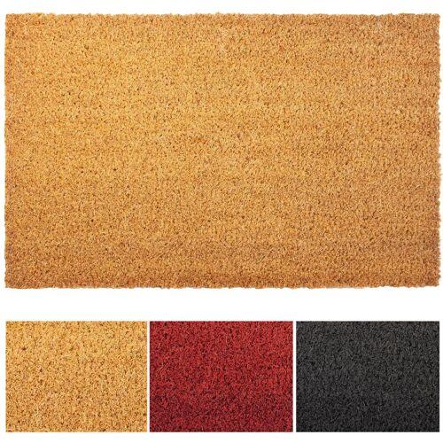 Floordirekt - Kokosmatte natur 3 cm Dicke 200 cm x 400 cm
