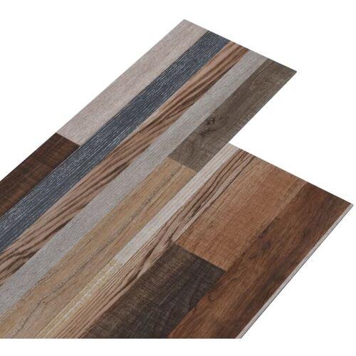 VIDAXL PVC-Laminat-Dielen 4,46 m² 3 mm Mehrfarbig
